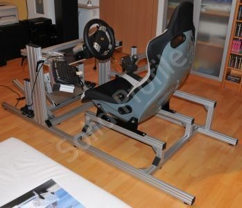racing simulator frame